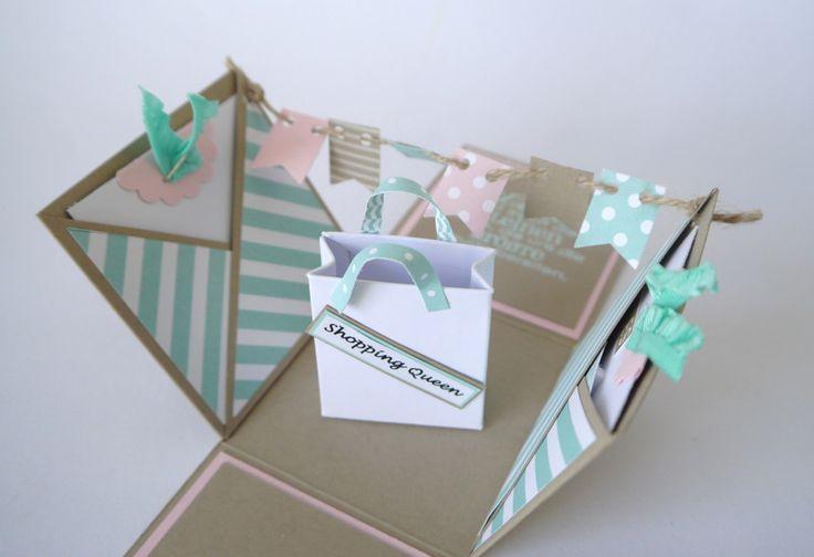 Gutscheine - Geldgeschenk zum Geburtstag / Shopping Gutschein - ein Designerstück von szamie bei DaWanda