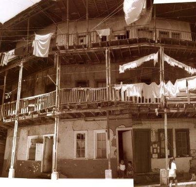 Conventillo Población Obrera de La Unión en Cerro Cordillera