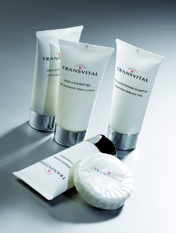 Transvital of Switzerland by SerrentiS - The exclusive, cosmetically effective care series. Science, quality and reliability characterize this special cosmetic line, which rises from the cosmetic tradition and the research in Switzerland. Treat your guests with innovative active ingredients and proven effectiveness in skin care. more details at http://serrentis-hotelsupplies.com/EN/courtesy-lines/transvital-of-switzerland/