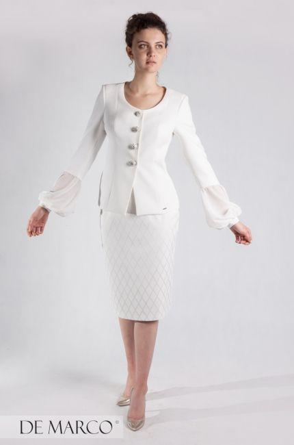 541a614ba9 Letnia stylizacja dla liderki  D biała maryarka na lato na delegację ...