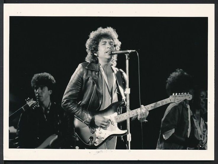 1980's Original Photo BOB DYLAN Revolutionary Artist and Sixties Cultural Icon
