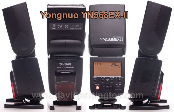 Yongnuo YN568EX-II Review (with pictures) plus guides to using Master and Slave Modes