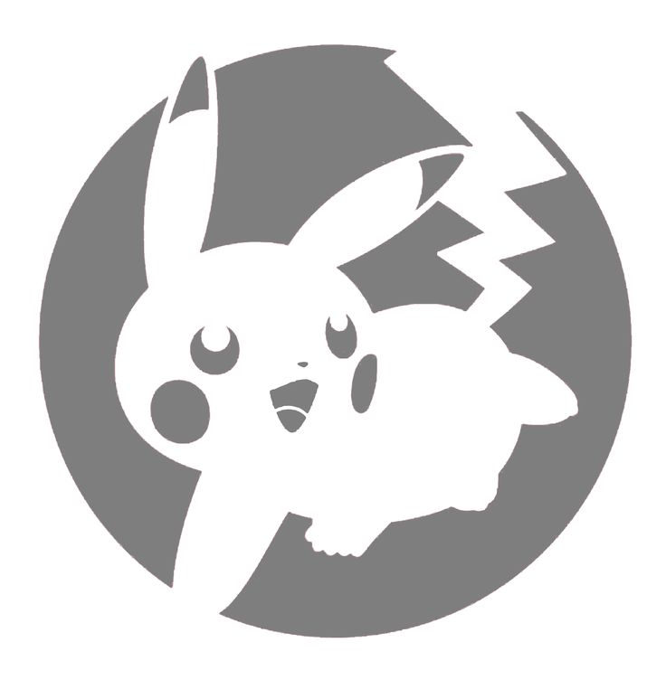 pokemon jack o lantern template - yummy pikachu pokemon stencil for 1 564 1 600