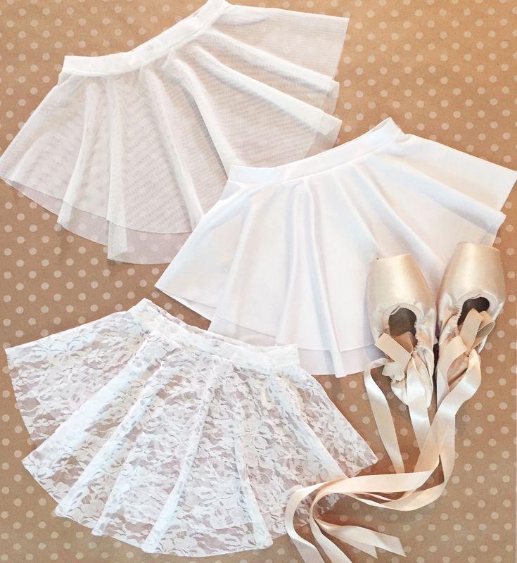 Royall Dancewear WHITE skirt collection- perfect for your summer intensive! SAB skirt | dance | ballet