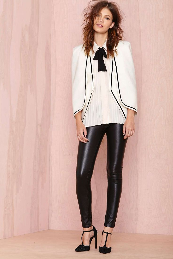 Gotham Cape Blazer | Shop Blazers at Nasty Gal