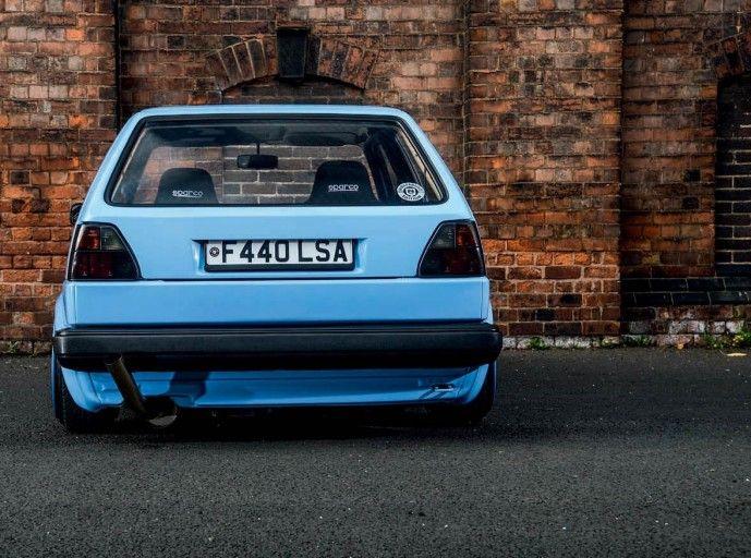 VW Golf Mk2 VR6 tuned engine - VW Golf Mk2 VR6 tuned engine