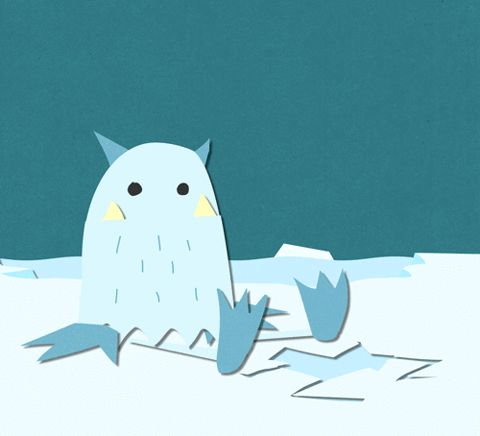 animation happy cute winter fish hungry ice yum cold smash arctic yeti munch feed me finger industries i want food #humor #hilarious #funny #lol #rofl #lmao #memes #cute