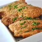 Baked Garlic Parmesan Chicken - made this last night using Dave's Killer Bread for breadcrumbs. It was yummy !!