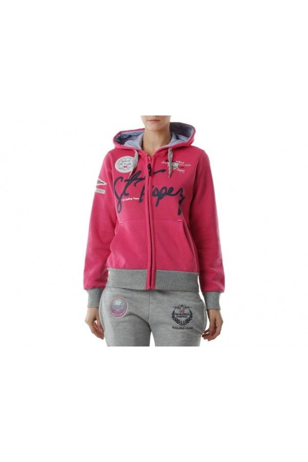 Sweat à zip. Pour le look sportswear www.power-dressing.com