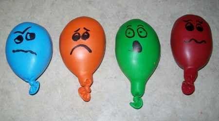 Jugamos con los globos expresivos. Blog ACTIViDADES INFANTIL explicado