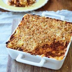 Mieliepap-'Lasagne'.