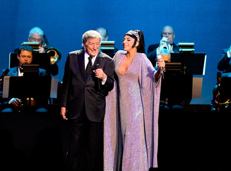 Tony Bennett & Lady Gaga from Musicians Performing Live on Stage  The talented artists come together for a special New Year's Eve concert at the Cosmopolitan Hotel in Las Vegas.