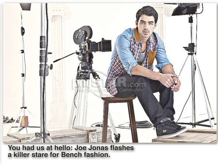 Being Joe Jonas - The Philippine Star . Joe was featured in a major newspaper in the Philippines