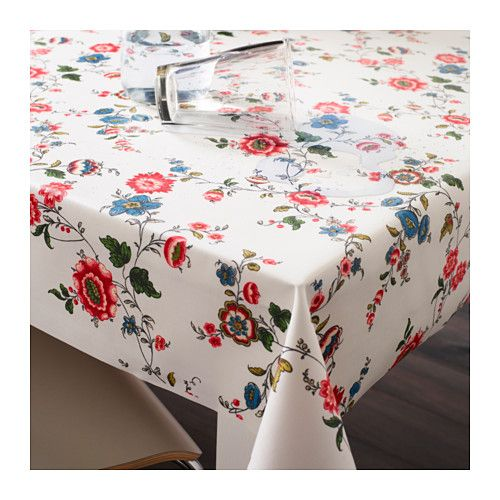 SYRENTRY Plastic-coated fabric  - IKEA For girl's table