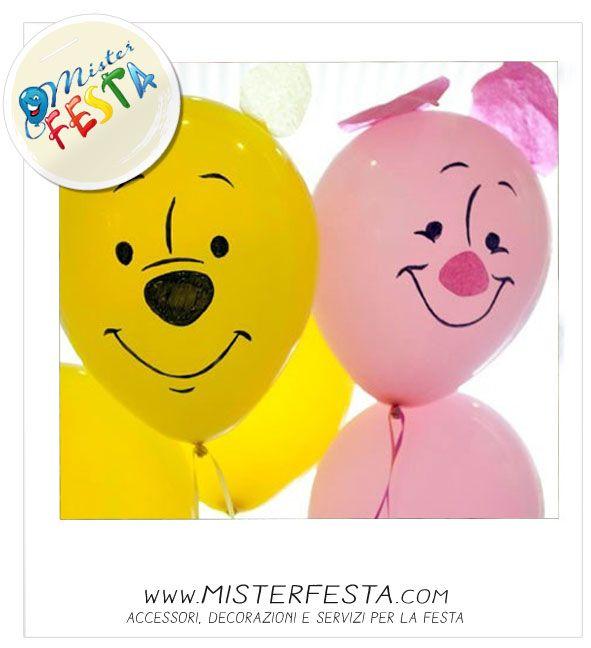#animali e #personaggi le faccie sui palloncini