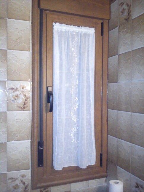 Cortina ventana ba o mis cosas en 2019 ventanas para - Persianas para banos ...