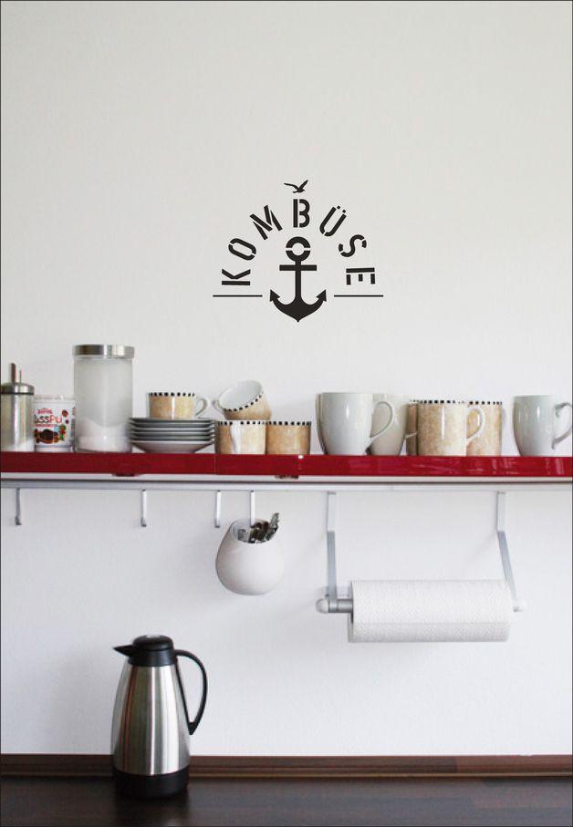8 best Maritim einrichten images on Pinterest Stiles, DIY and - küchen wandtattoo sprüche