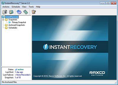 Bir çok veri kurtarma şirketinin tercih etmiş olduğu Raxco InstantRecovery Server Full programı windows sistemlerinde yaygın olarak kullanılan başarılı bir veri kurtarma programlarından birisidir. NTFS ve FAT32 dosya sistemleriyle uyumlu çalışarak disk içerisinde virüs veya herhangi bir nedenden dolayı silinen dosyalarınızı hızlı bir şekilde geri getirebilmektedir.