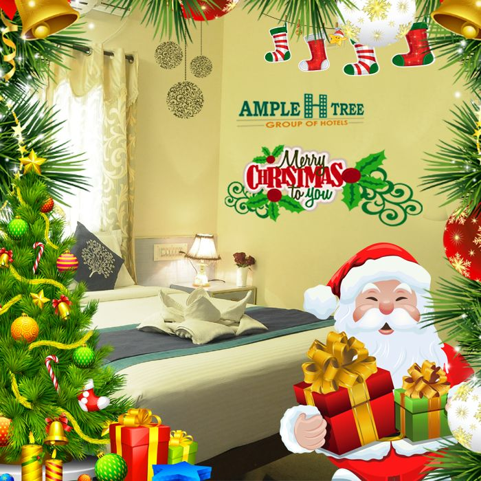 Happy #Christmas  www.ampletrees.com  #AmpleHtree | #hotel #near #bangalore #airport