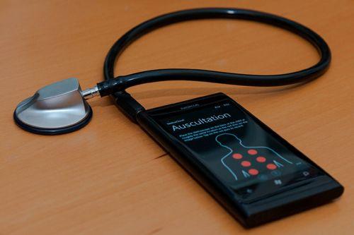 Stethoscope app, detects pneumonia in children... incredible!