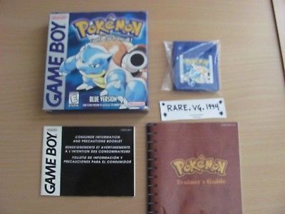Pokemon Blue Version Nintendo Game Boy GB Complete SAVES Tested Working Rare: $64.99 End Date: Tuesday Mar-13-2018 15:34:21 PDT Buy It Now…