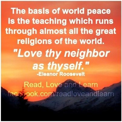 love thy neighbour | Love Thy Neighbor Quotes. QuotesGram