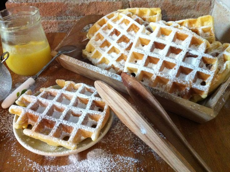 waffle dolci