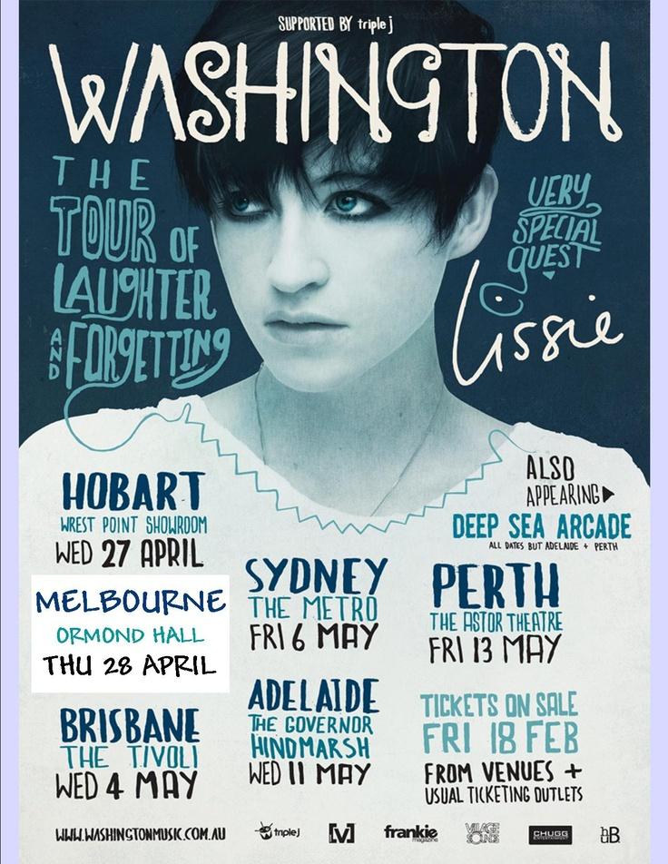 Washington -Ormond Hall Melbourne australia