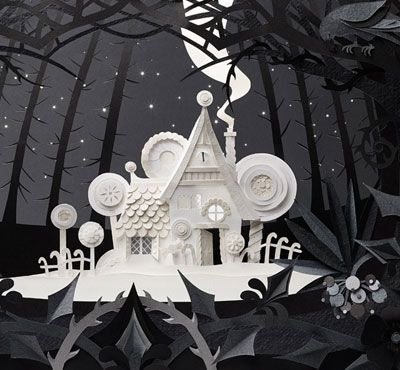Paper art Helen Musselwhite | Handsome Frank Illustration Agency
