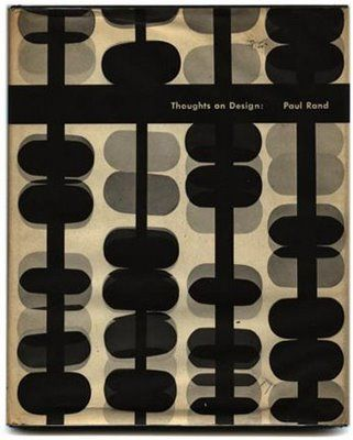 Cover of Paul Rand's book  Thoughts on Design 1946