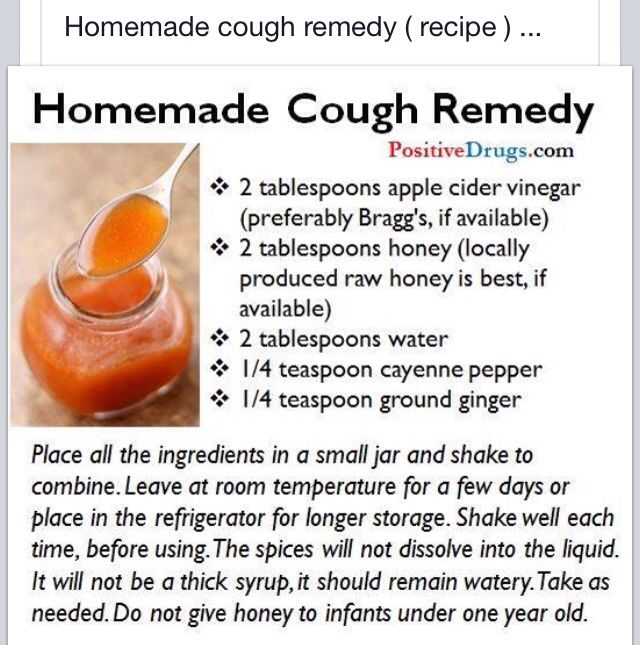 Homemade Cough Remedy