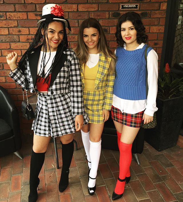 90s girls youll obsess over these nostalgic group costumes - Pin Up Girl Halloween Costumes 2017