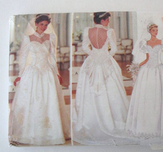 14 best Wedding Gowns 1920s-1990s images on Pinterest   Wedding ...