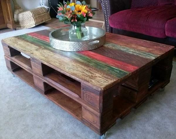 10 Genius Uses of Pallets to Create Furniture | 99 Pallets