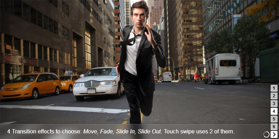 10 Best jQuery Touch Enabled Sliders