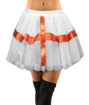 Crazy Chick White England Tutu Skirt  Buy Online:  https://www.wholesaleconnections.co.uk/product-detail/wn/Crazy-Chick-White-England-TuTu-Skirt  Like us on facebook.com/ukwholesalebusiness Email us: info@wholesaleconnections.co.uk Follow us on: twitter.com/Wholesale_Conn