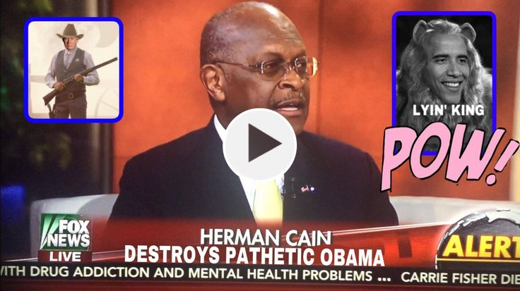 (VIDEO) AWESOME!!! HERMAN CAIN: We've got a new Sheriff in town and his name is Donald Trump.