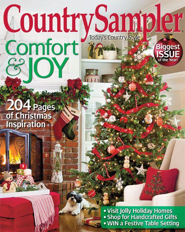Our november issue has all the country comfort and joy you need to deck your halls