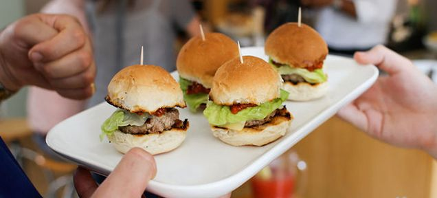 These burgers are not made of human flesh—but they taste like human flesh. That's what chef James Tomlinson and food inventor Miss Cakehead say. They developed the recipe using the description from cannibals like William Seabrook—a journalist who cooked human meat provided by a hospital intern at the Sorbonne.