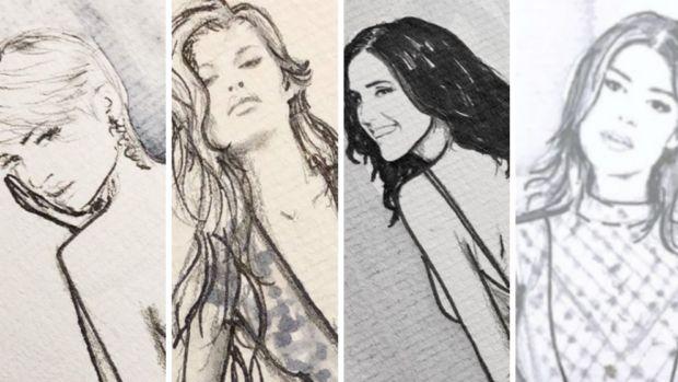 Ze García y sus influencers brillan en la 080 Barcelona Fashion