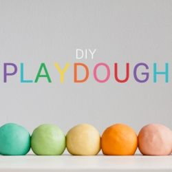 The ultimate play dough recipe - silky smooth and smells great!