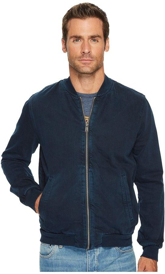Lucky Brand Denim Bomber Jacket Men's Coat