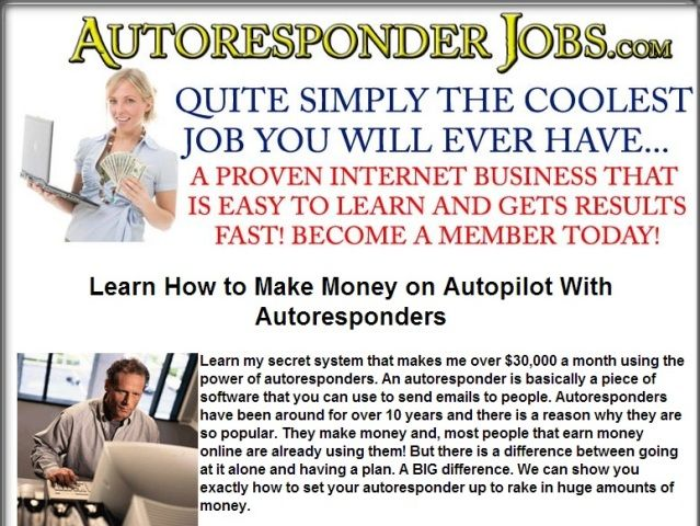 Follow link for more info. http://smb06.org/make-money-online-learn-how-to-make-money-on-autopilot-with-auto-responder #makmoneyfromhome