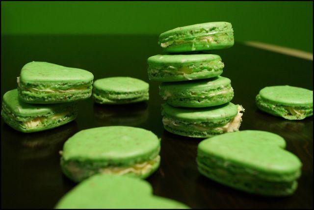 Macarons, französisches Gebäck, Anleitung und Rezept