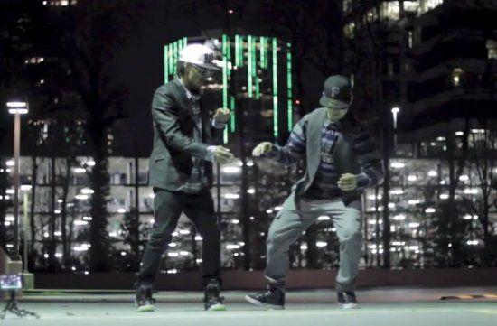 Новый дабстеп-танец от Nonstop и Puppin John