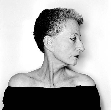 Hélène Cixous by Olivier Roller, 2004
