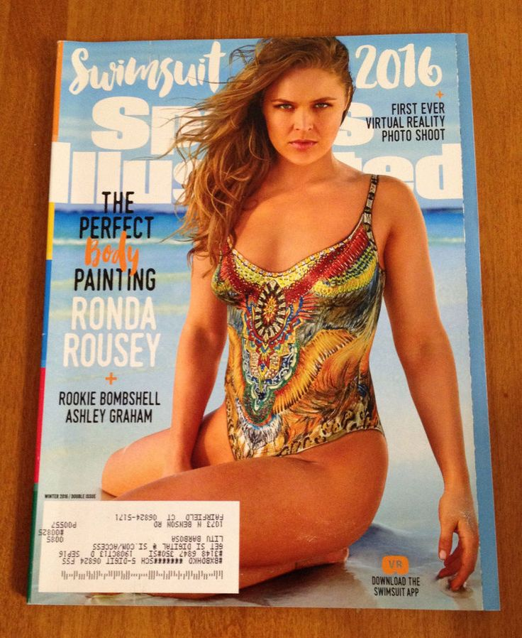 Swimsuit Sports Illustrated 2016 Magazine Ronda Rousey Cover Virtual Reality