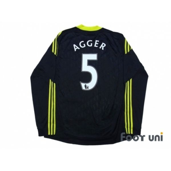 Liverpool 2010-2011 3RD L/S Shirt #5 Agger #adidas - Football Shirts,Soccer Jerseys,Vintage Classic Retro - Online Store From Footuni Japan