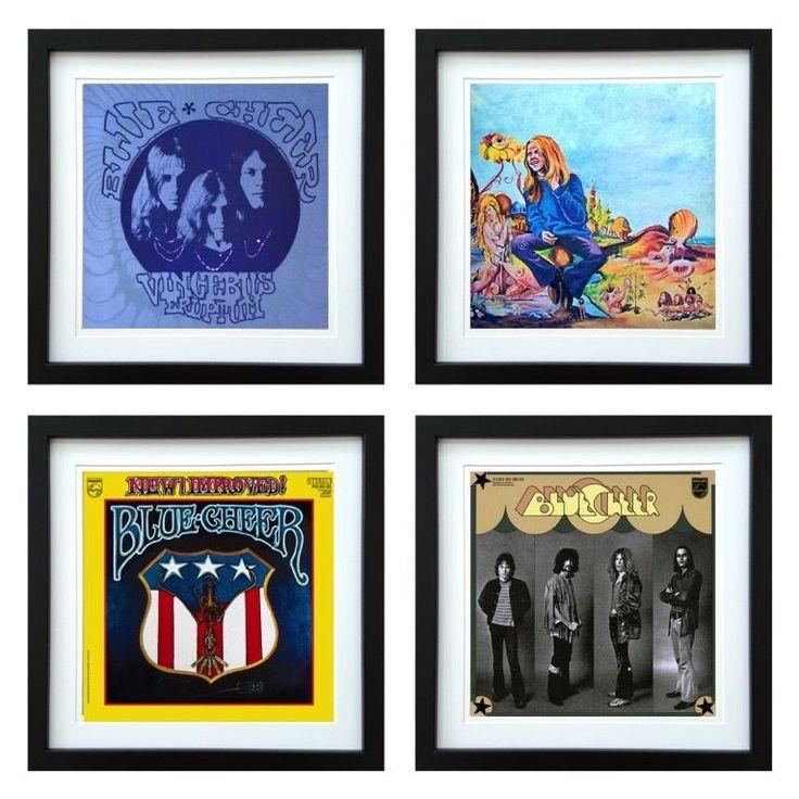 Blue Cheer | Framed Album Art Set of 4 Images | ArtRockStore