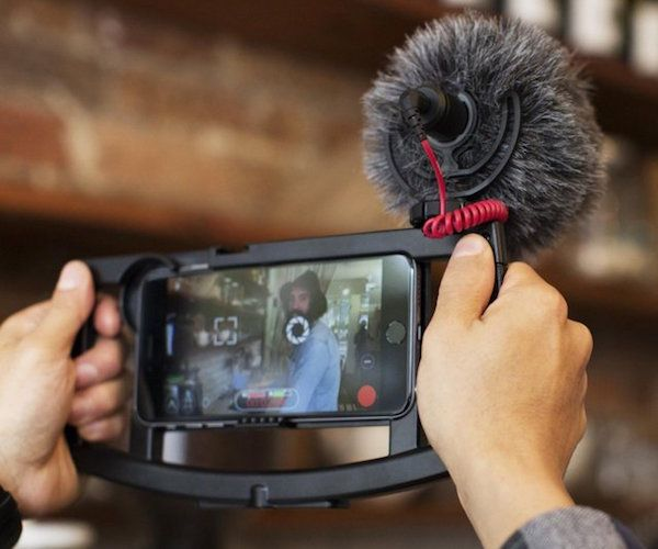 Record professional quality video on your smartphone with the iOgrapher #Filmmaking Case for #iPhone.